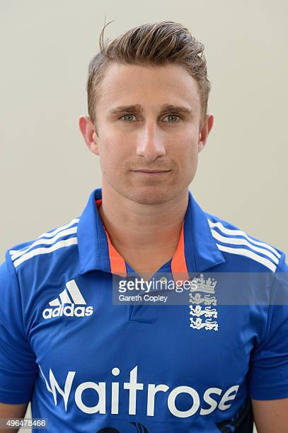 James Taylor of England poses for a portrait at Zayed Cricket Stadium on November 10 2015 in Abu Dhabi United Arab Emirates