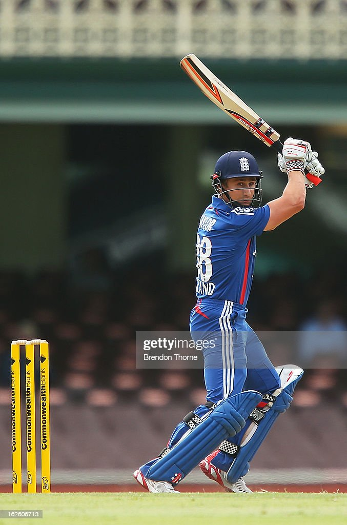 James Taylor of the Lions bats during the International Tour match between Australia 'A' and the England Lions at Sydney Cricket Ground on February 25, 2013 in Sydney, Australia.