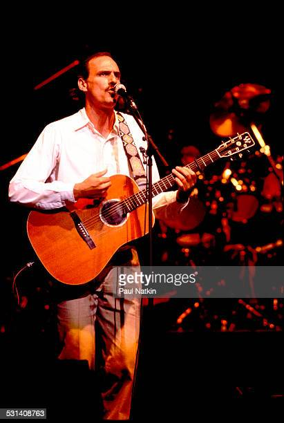 James Taylor performing Chicago Illinois February 23 1982