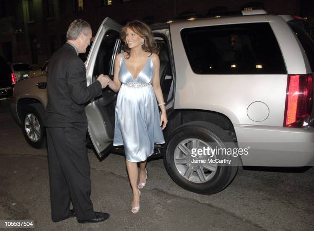 James Taylor President of Cadillac and Melania Trump