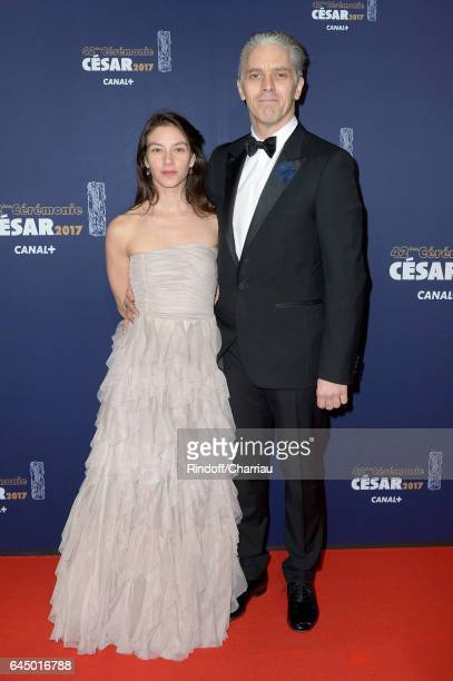 James Thierree and a guest arrive at the Cesar Film Awards Ceremony at Salle Pleyel on February 24 2017 in Paris France