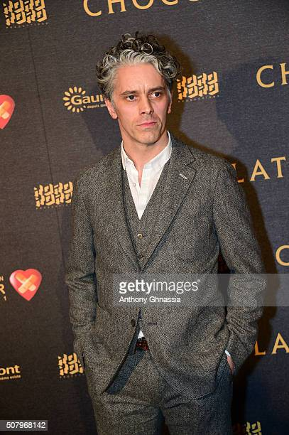 James Thierree attend the 'Chocolat' Paris premiere at Cinema Gaumont Champs Elysees Marignan on February 1 2016 in Paris France