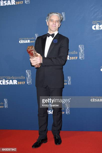 James Thierree attends the Cesar Film Awards 2017 at Salle Pleyel on February 24 2017 in Paris France