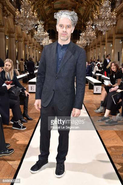 James Thierree attends the Lanvin show as part of the Paris Fashion Week Womenswear Fall/Winter 2017/2018 on March 1 2017 in Paris France