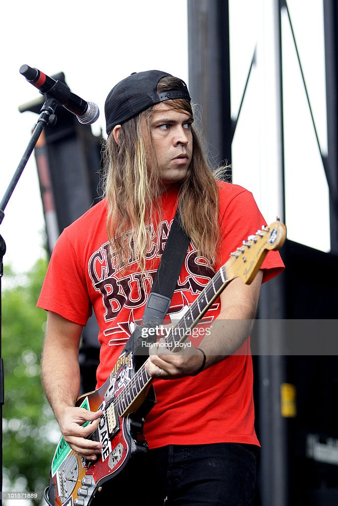 James Tidswell of Violent Soho performs at Columbus Crew Stadium in Columbus, Ohio on MAY