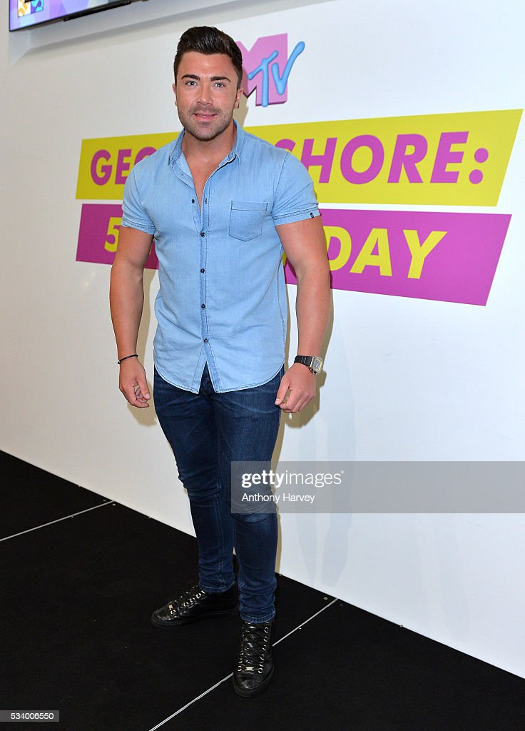 James Tindale of Geordie Shore celebrate their fifth birthday at MTV London on May 24, 2016 in London, England.