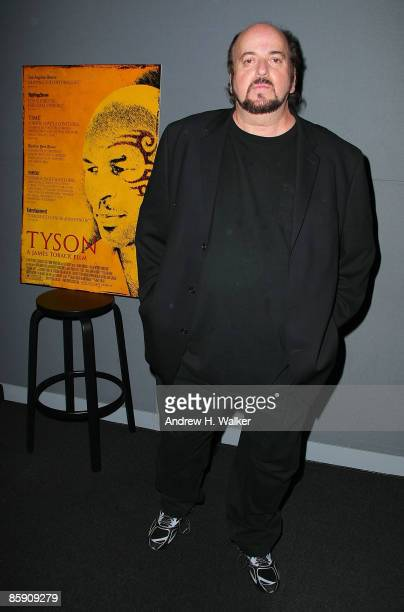 James Toback visits the Apple Store Soho on April 10 2009 in New York City