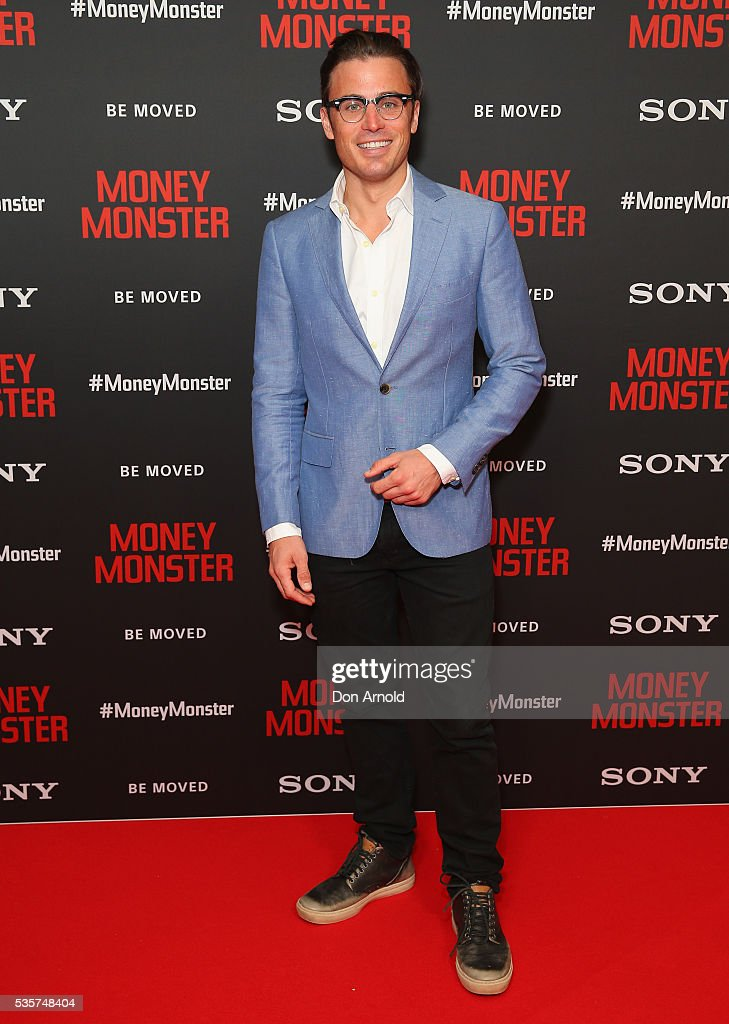 James Tobin arrives ahead of the Money Monster Australian Premiere at Event Cinemas George Street on May 30, 2016 in Sydney, Australia.