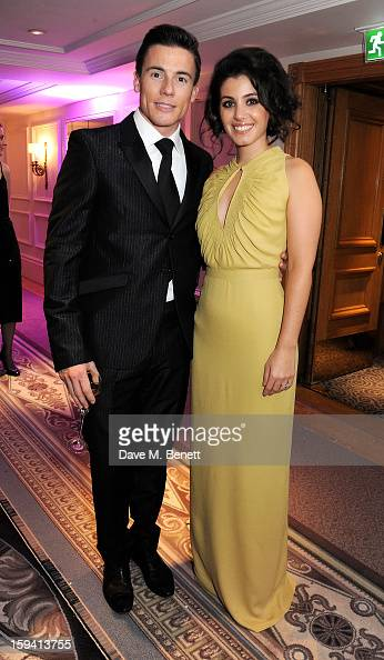 James Toseland and Katie Melua attend a gala evening celebrating Old Russian New Year's Eve in aid of the Gift Of Life Foundation at The Savoy Hotel...