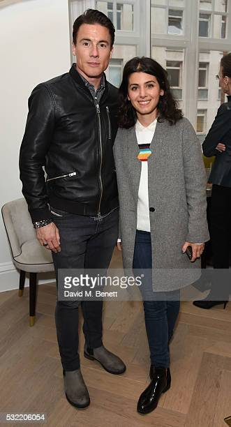 James Toseland and Katie Melua attend the launch of the Stephen Webster Salon on Mount Street on May 18 2016 in London England