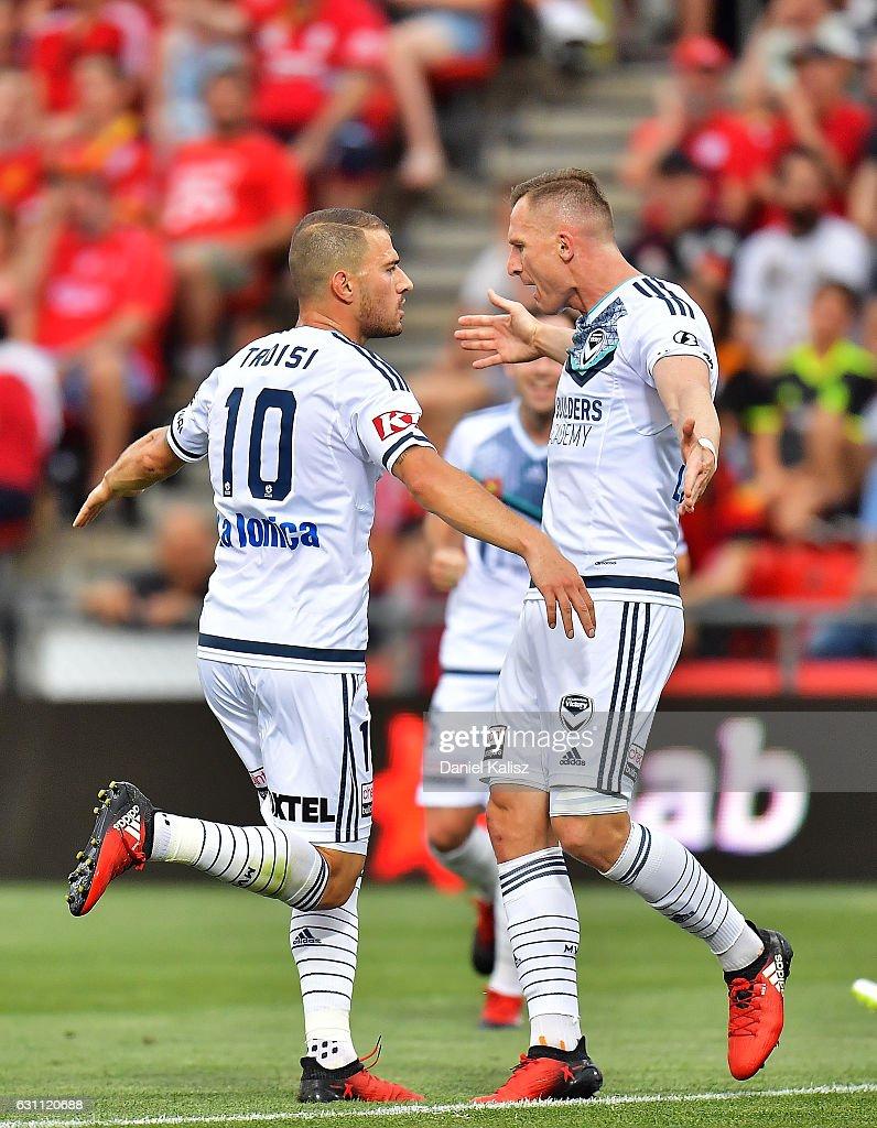 A-League Rd 14 - Adelaide v Melbourne