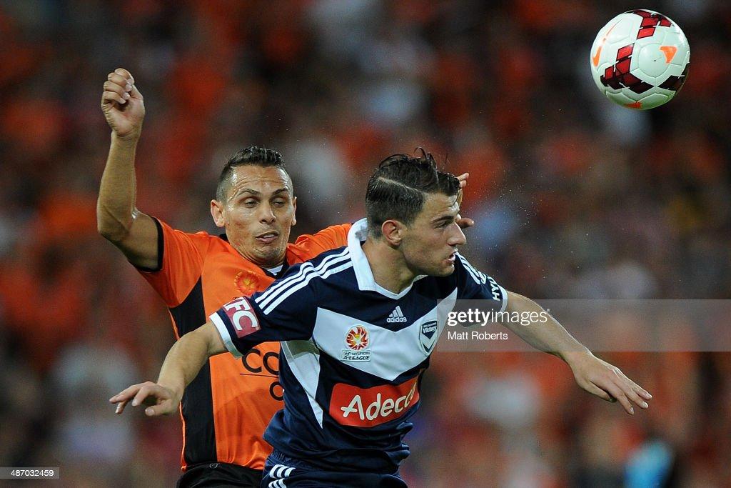 A-League Semi Final - Brisbane v Melbourne