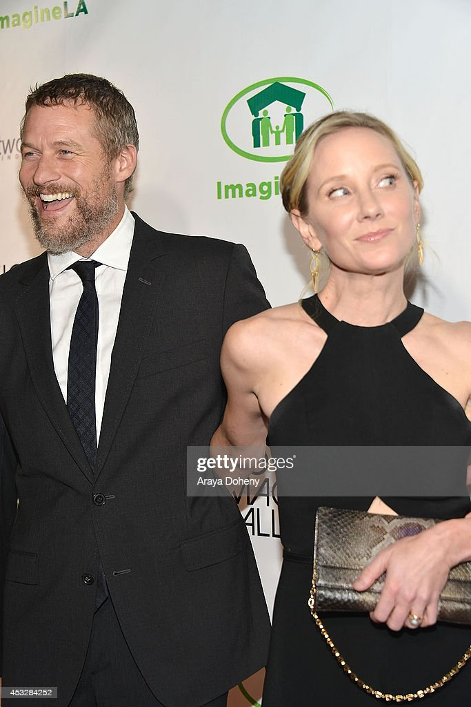 <a gi-track='captionPersonalityLinkClicked' href=/galleries/search?phrase=James+Tupper&family=editorial&specificpeople=619618 ng-click='$event.stopPropagation()'>James Tupper</a> and <a gi-track='captionPersonalityLinkClicked' href=/galleries/search?phrase=Anne+Heche&family=editorial&specificpeople=202988 ng-click='$event.stopPropagation()'>Anne Heche</a> arrive at The Imagine Ball held at House of Blues Sunset Strip on August 6, 2014 in West Hollywood, California.