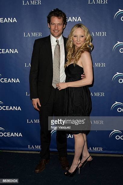 James Tupper and Anne Heche attend Oceana's celebration of World Oceans Day with La Mer at a private residence on June 8 2009 in Los Angeles...