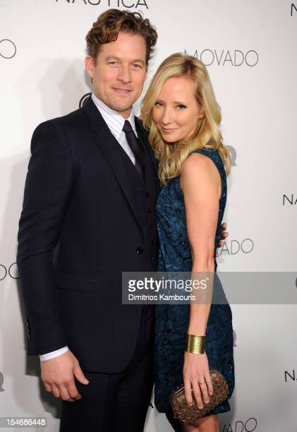 James Tupper and Anne Heche attend the 2012 GQ Gentlemen's Ball presented by LG Movado and Nautica on October 24 2012 in New York City