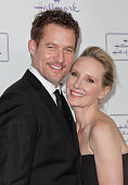 James Tupper and Anne Heche attend the Hallmark Hall of Fame 'One Christmas Eve' Los Angeles premiere at Fig Olive Melrose Place on November 18 2014...