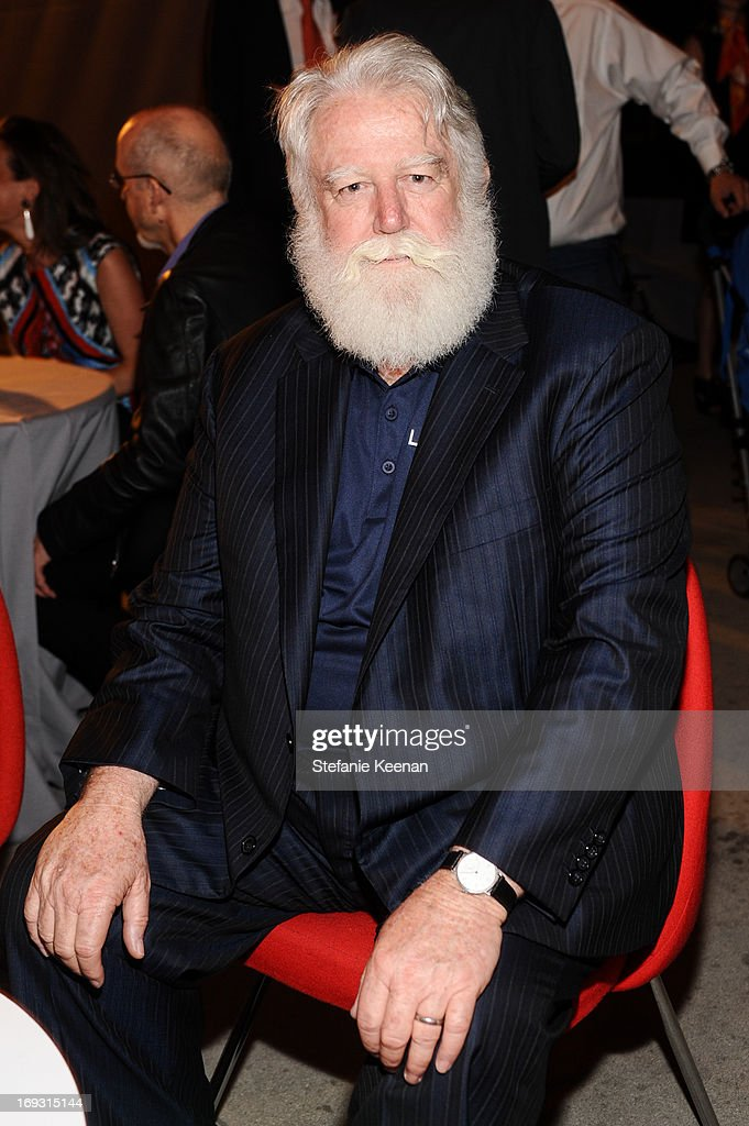 James Turrell attends LACMA Celebrates Opening Of James Turrell: A Retrospective at LACMA on May 22, 2013 in Los Angeles, California.