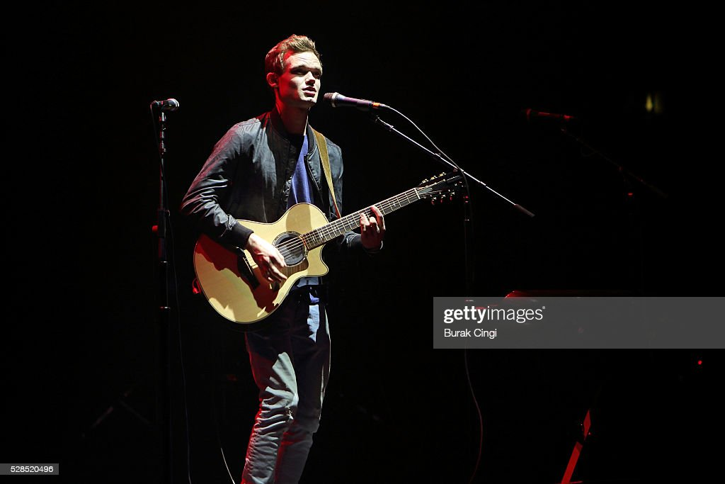 James TW performs live on stage at Eventim Apollo on May 5, 2016 in London, England.