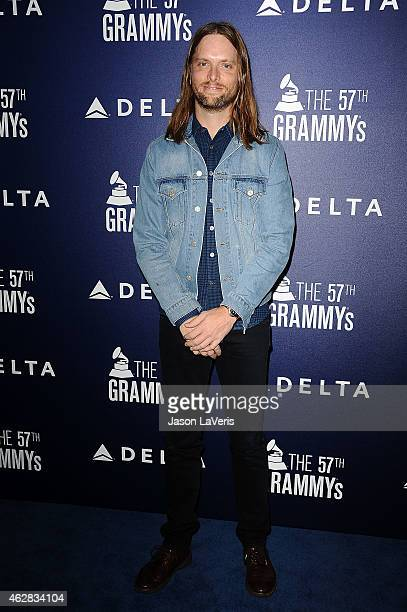 James Valentine of Maroon 5 attends the Delta Air Lines toast to the 2015 GRAMMY weekend at Soho House on February 5 2015 in West Hollywood California
