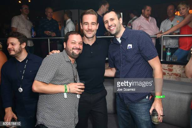 James Van Der Beek and guests attend VICELAND Presents What Would Diplo Do @ Comic Con 2017 on July 21 2017 in San Diego California