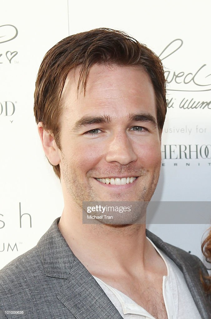 James Van Der Beek arrives to Heidi Klum's Summer 2010 Collection launch event held at A Pea In The Pod on May 26 2010 in Beverly Hills California
