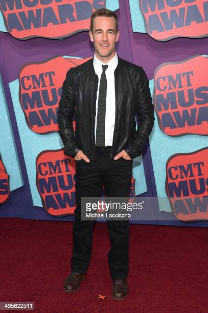 James Van Der Beek attends the 2014 CMT Music awards at the Bridgestone Arena on June 4 2014 in Nashville Tennessee