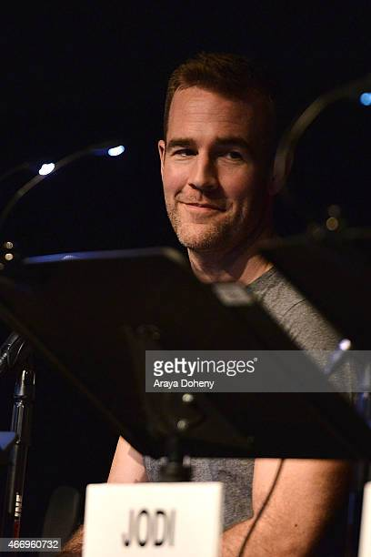 James Van Der Beek attends the Film Independent at LACMA presents Live Read of 'Dazed And Confused' at Bing Theatre At LACMA on March 19 2015 in Los...