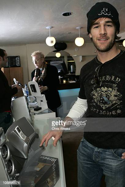 James Van Der Beek during 2006 Park City The Loft featuring TMobile Klipsch and Hudson Day 4 at 427 Main Street in Park City Utah United States