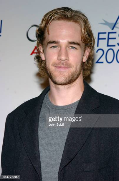 James Van Der Beek during AFI FEST 2004 Presented by Audi 'Rx' Red Carpet at Arclight Theatre in Los Angeles California United States