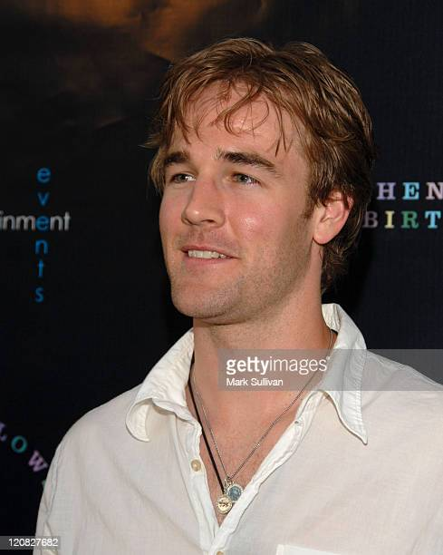 James Van Der Beek during Stephen Tobolowsky's Birthday Party and DVD Release at Aqua in Beverly Hills California United States