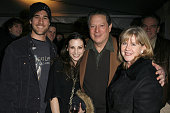 James Van Der Beek Heather McComb Al Gore and Tipper Gore