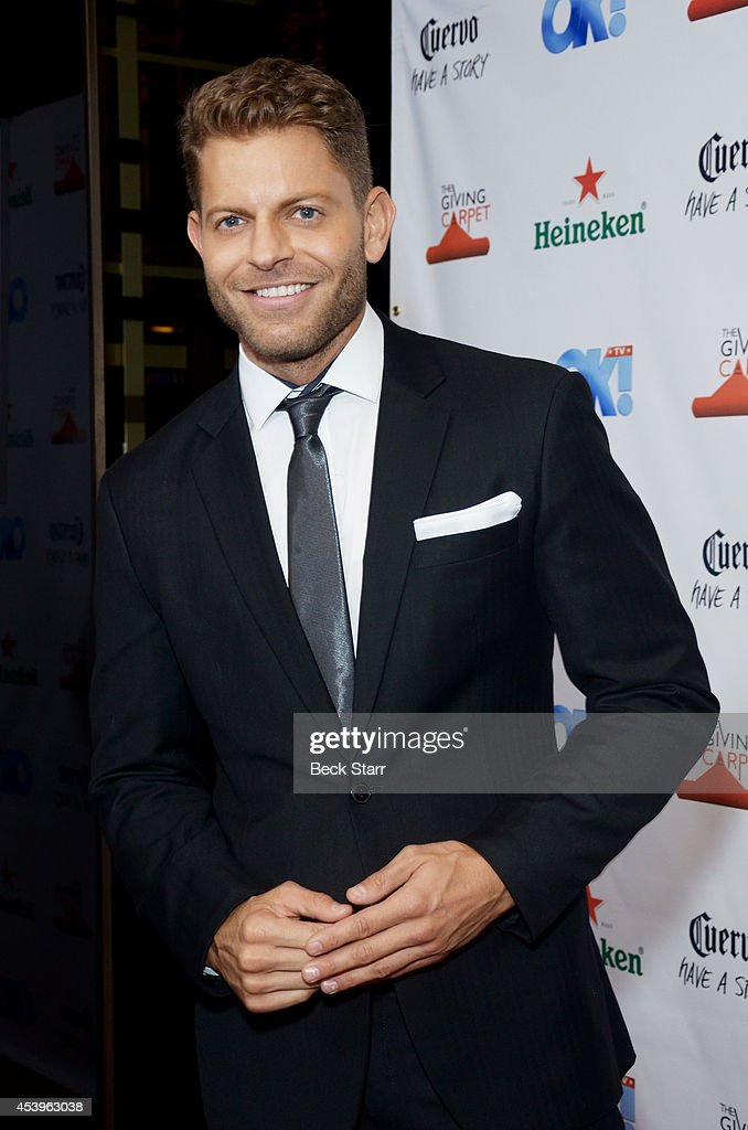 James Vaughan arrives at OK! TV Emmy pre-awards party honoring the Emmy nominees and presenters at Sofitel Hotel on August 21, 2014 in Los Angeles, California.