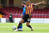 GBR: Bradford City v Wigan Athletic - Pre-Season Friendly