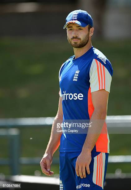 James Vince of England during a net session at Newlands Cricket Ground on February 16 2016 in Cape Town South Africa