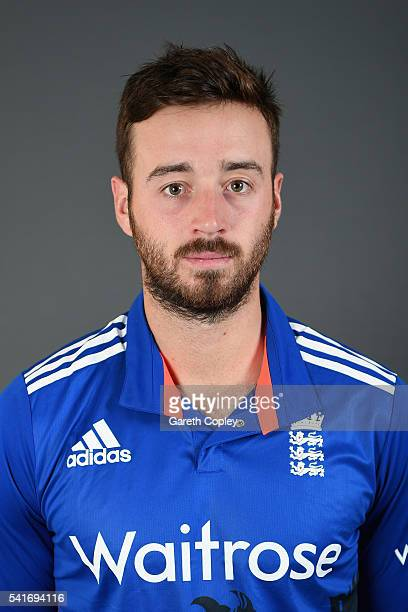 James Vince of England poses for a portrait at Trent Bridge on June 20 2016 in Nottingham England