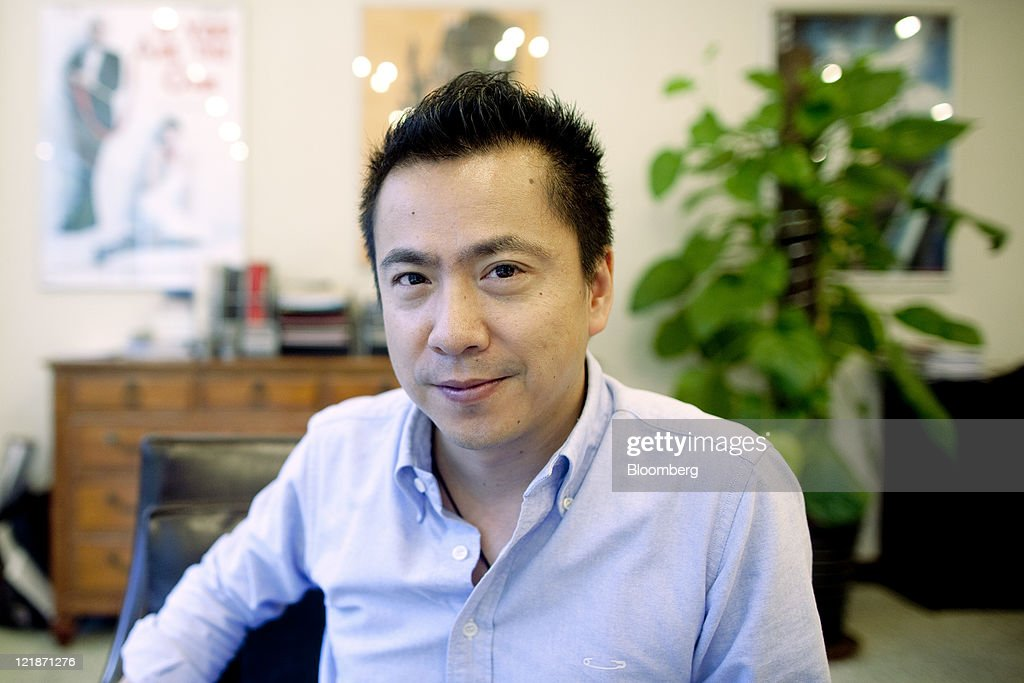 James Wang, chief executive officer of Huayi Brothers Media Corp., poses for a portrait in his office in Beijing, China, on Tuesday, Aug. 16, 2011. Box office receipts in China grew 64 percent last year to 10.2 billion yuan ($1.6 billion), according to the State Administration of Radio, Film and Television. Photographer: Nelson Ching/Bloomberg via Getty Images