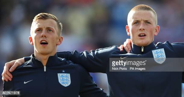James WardProwse and Jordan Pickford