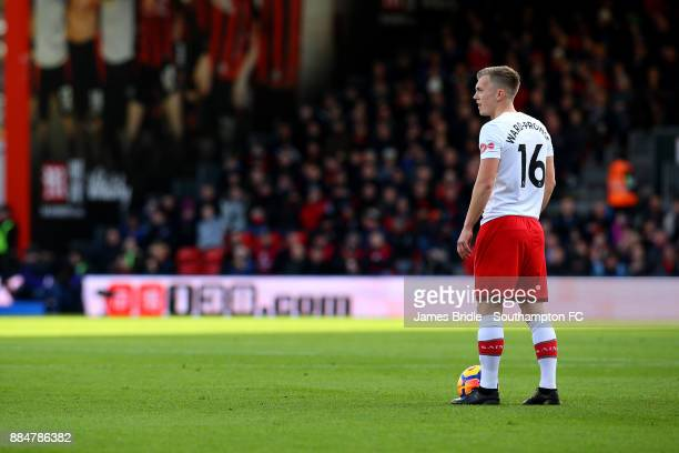 James WardProwse during the Premier League match between AFC Bournemouth and Southampton at Vitality Stadium on December 3 2017 in Bournemouth England