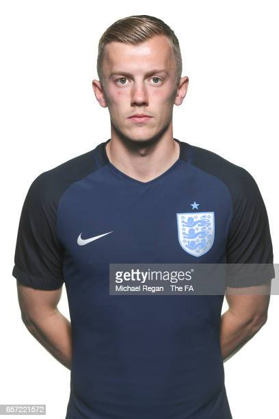 James WardProwse poses for an England team portrait at St Georges Park on March 20 2017 in BurtonuponTrent England