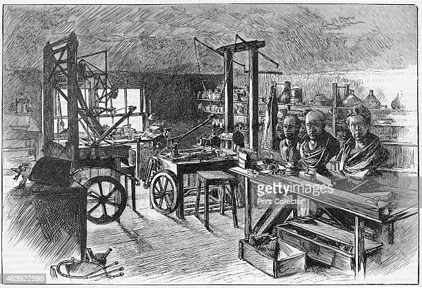 James Watt's workshop at Heathfield Hall Birmingham 1886 It had not been disturbed since his death in 1819 Watt Scottish engineer and inventor was...