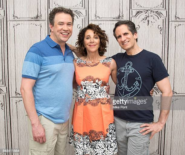James Wesley actress Andrea Martin and musician Seth Rudetsky attend the AOL Build Speaker Series to discuss the recording of 'What the World Needs...
