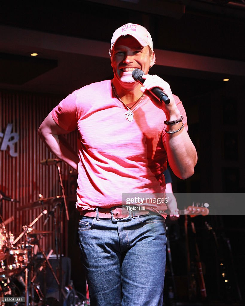James Wesley performs during the BBR Music Group 3rd annual Pre-CMA party at the Hard Rock Cafe Nashville on October 31, 2012 in Nashville, Tennessee.