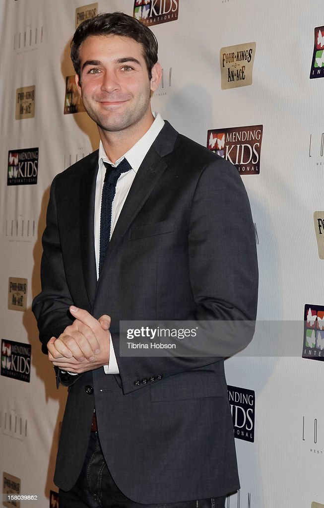 <a gi-track='captionPersonalityLinkClicked' href=/galleries/search?phrase=James+Wolk&family=editorial&specificpeople=6966494 ng-click='$event.stopPropagation()'>James Wolk</a> attends the Mending Kids International celebrity poker tournament at The London Hotel on December 1, 2012 in West Hollywood, California.