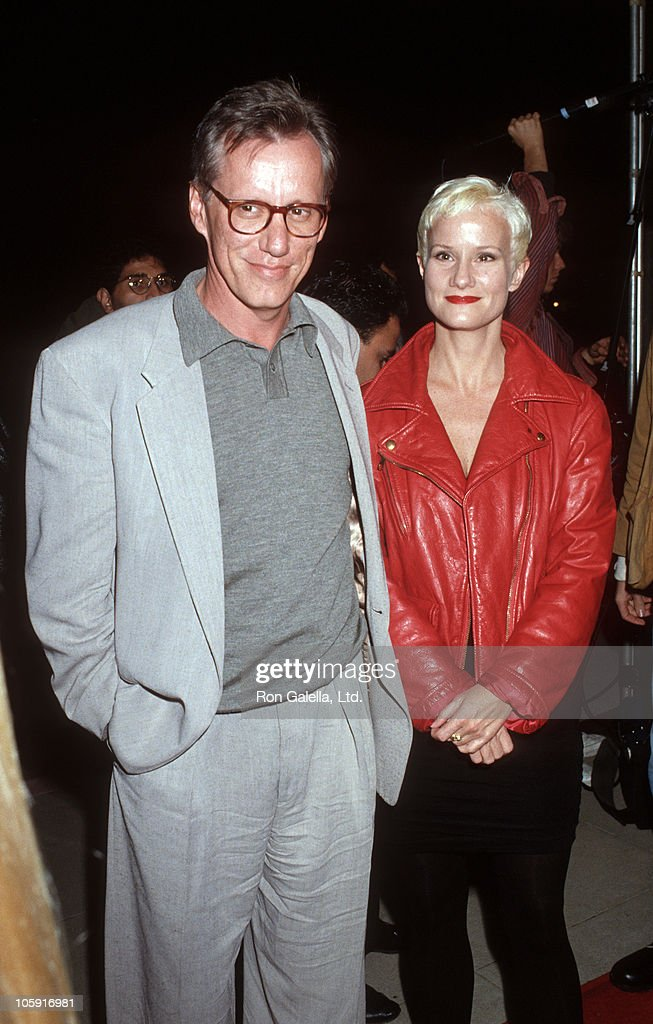 James Woods and Ann Crawford during Los Angeles Premiere of 'Hoffa' to Benefit Tripod Hoffa at Academy Theatre in Beverly Hills, California, United States.