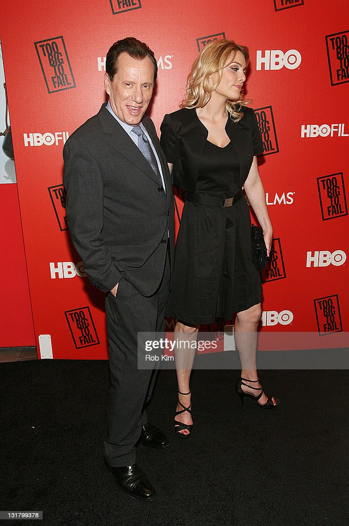 James Woods and Ashley Madison attend HBO's 'Too Big to Fail' premiere at The Museum of Modern Art on May 16 2011 in New York City