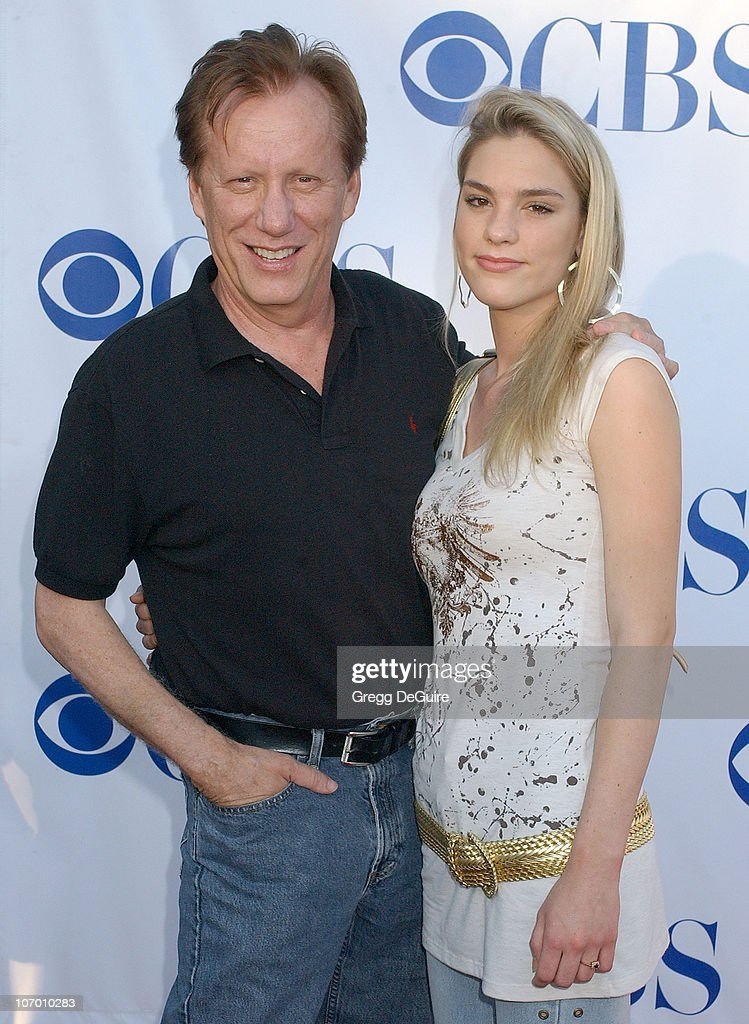 James Woods and Ashley Madison during CBS Summer 2006 TCA Press Tour Party Arrivals at Rose Bowl in Pasadena California United States