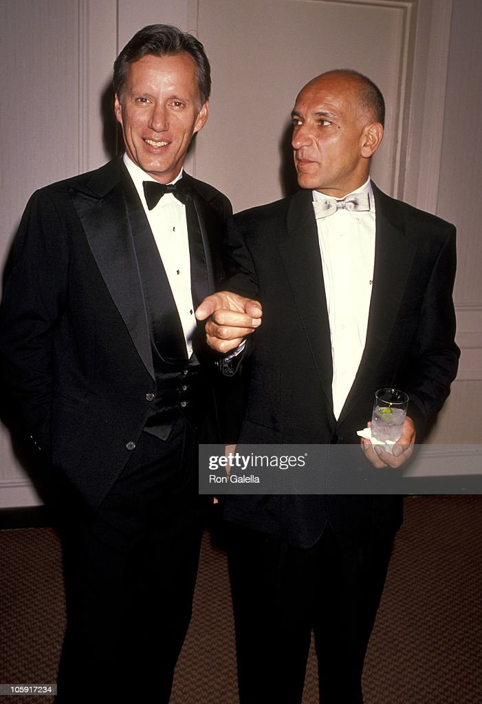 James Woods and Ben Kingsley during 1989 National Tribute Dinner Hosted By The Simon Weisenthal Center at Century Plaza Hotel in Century City, California, United States.