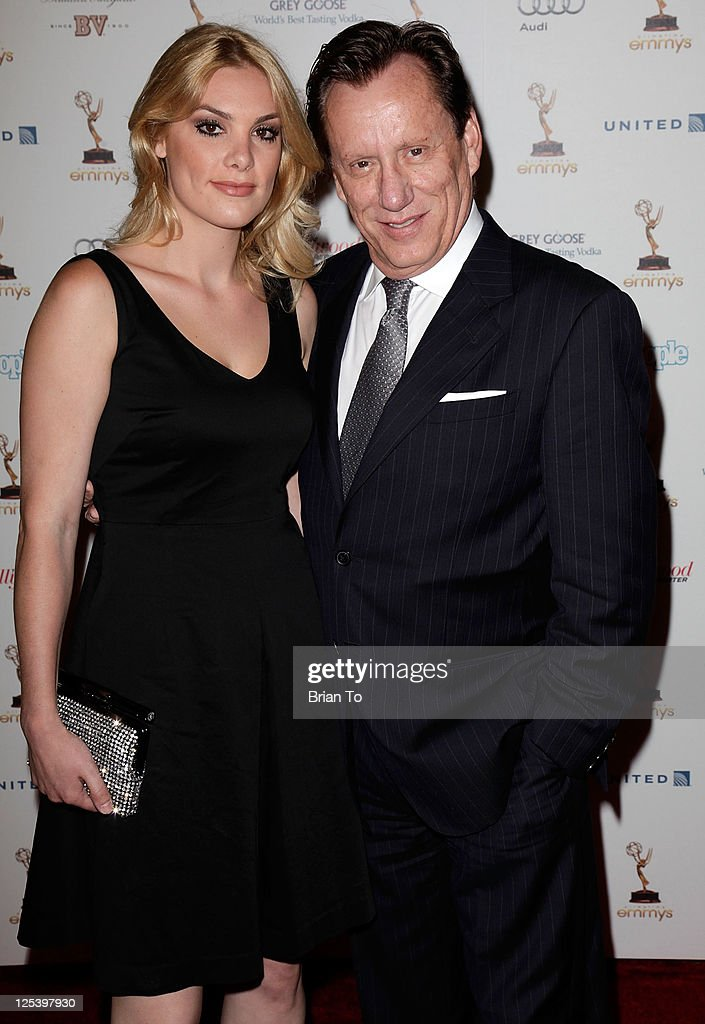 James Woods and girlfriend Ashley Madison attend 63rd primetime Emmy awards performers nominees reception at Spectra by Wolfgang Puck at the Pacific...