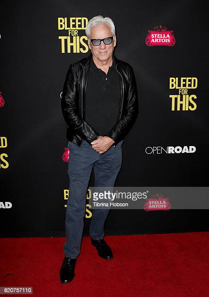 James Woods attends the premiere of Open Road Films 'Bleed For This' at Samuel Goldwyn Theater on November 2 2016 in Beverly Hills California