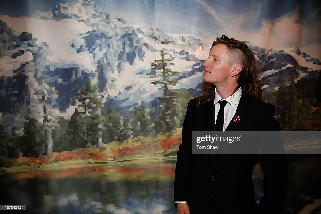 James Woods of Great Britain poses during the British Olympic Ball at The Dorchester on October 30, 2013 in London, England.
